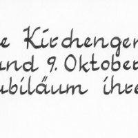150 Jahre Evangelische Kirchengemeinde in Goisern